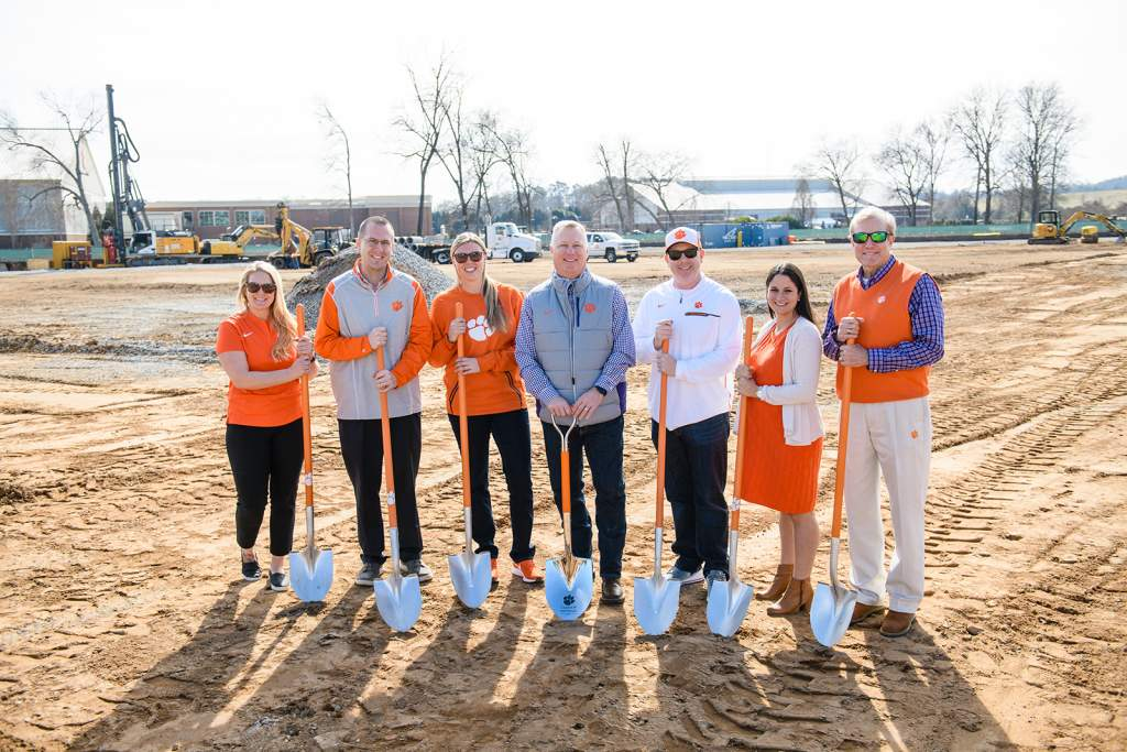 Clemson Softball Stadium Construction Underway