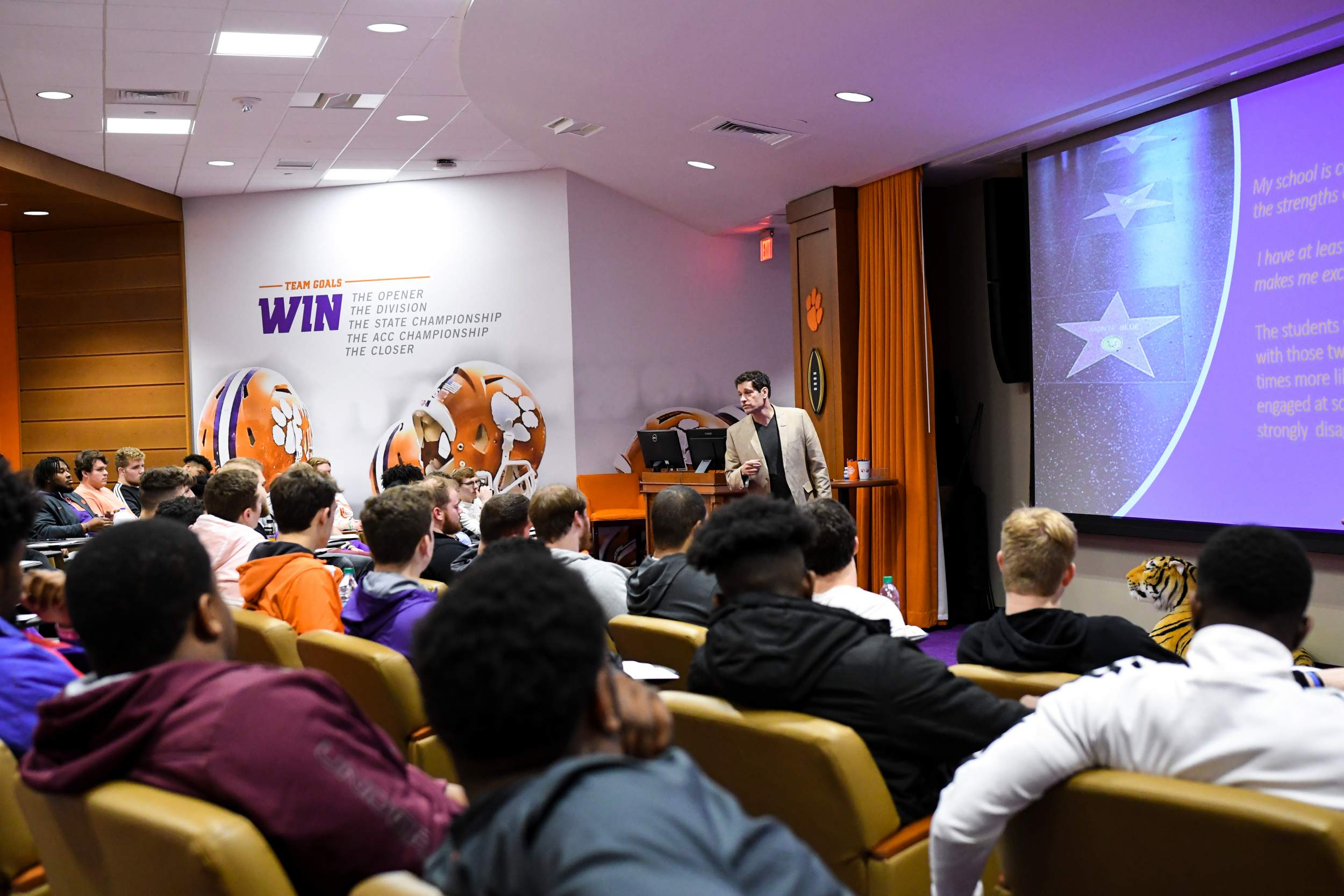 Finding Their Strengths – Clemson Tigers Official Athletics Site
