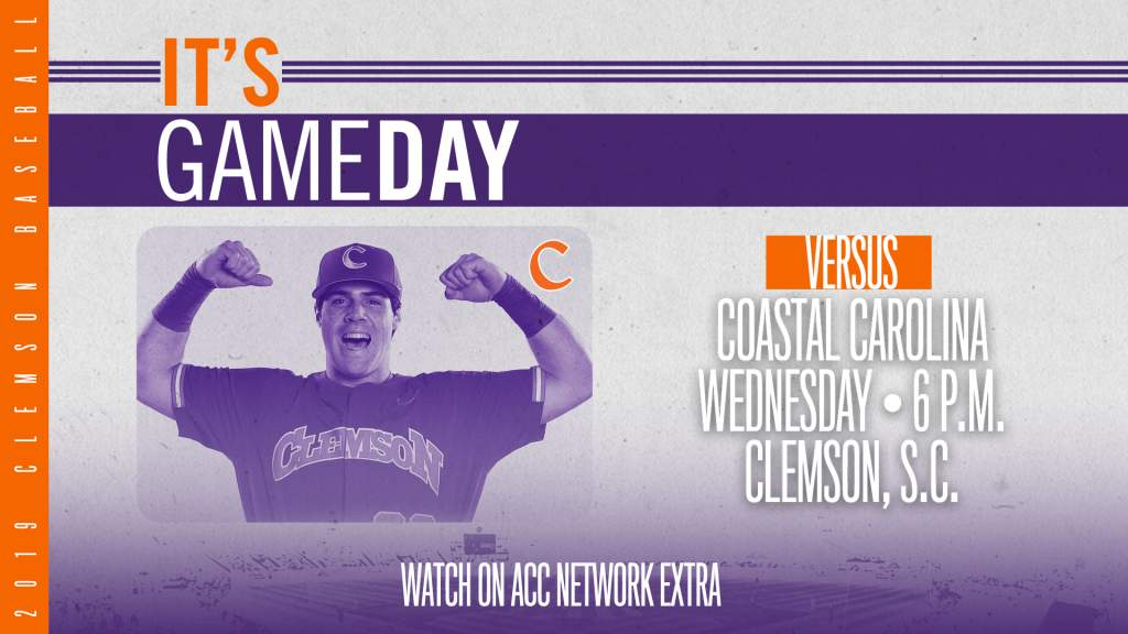 GAMEDAY – Coastal Carolina at Clemson