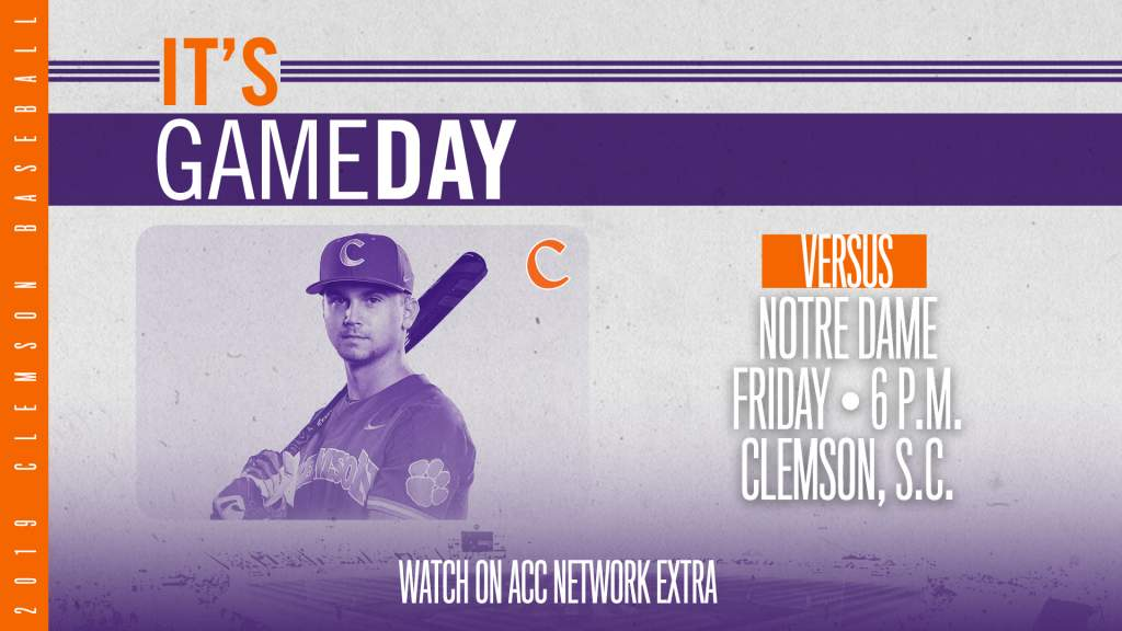 GAMEDAY – Notre Dame at Clemson