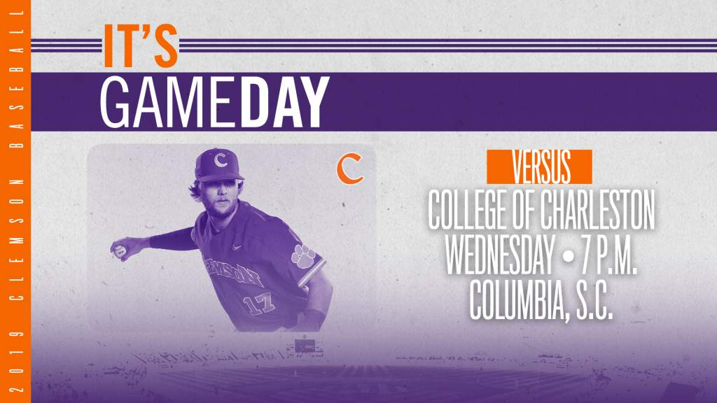GAMEDAY – Clemson vs. College of Charleston (Columbia, S.C.)