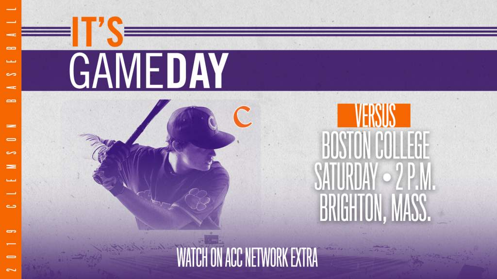 GAMEDAY – Clemson at Boston College