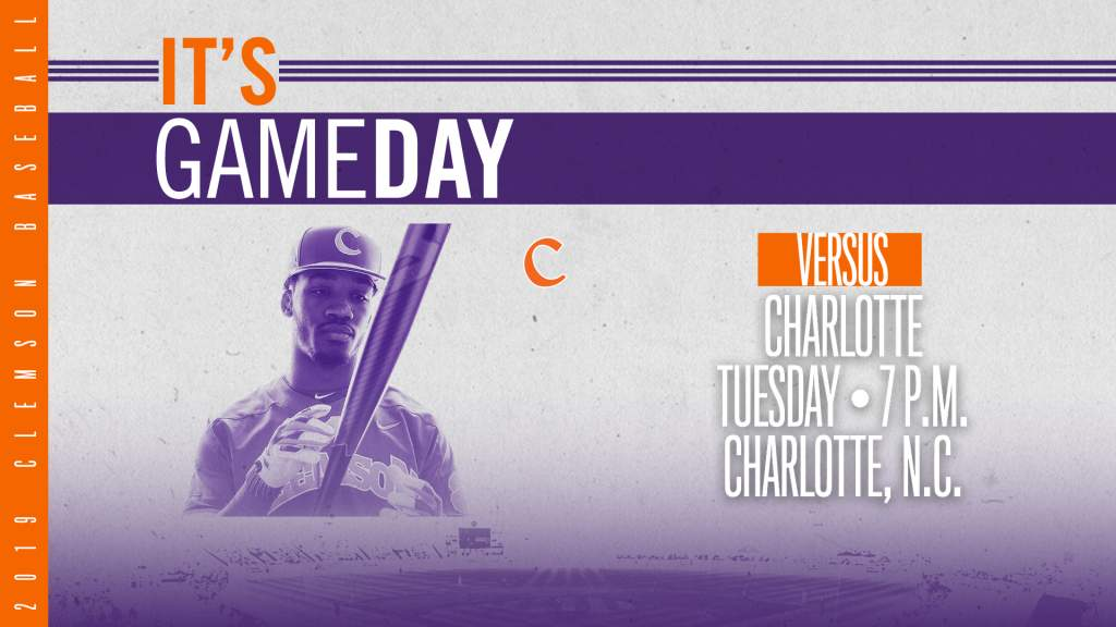 GAMEDAY – Clemson at Charlotte