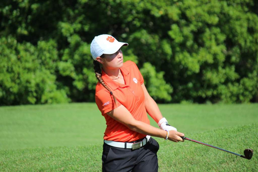 Clemson 11th Entering Final Round at Evans Derby Experience