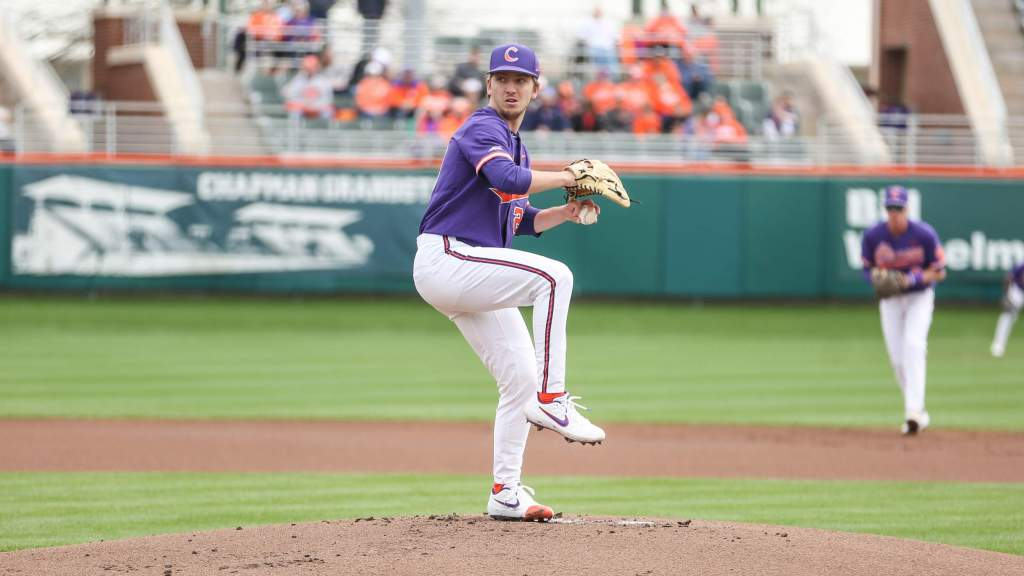 Clark Pitches Tigers Past Notre Dame 5-1