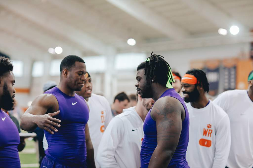 Pro Day at Clemson