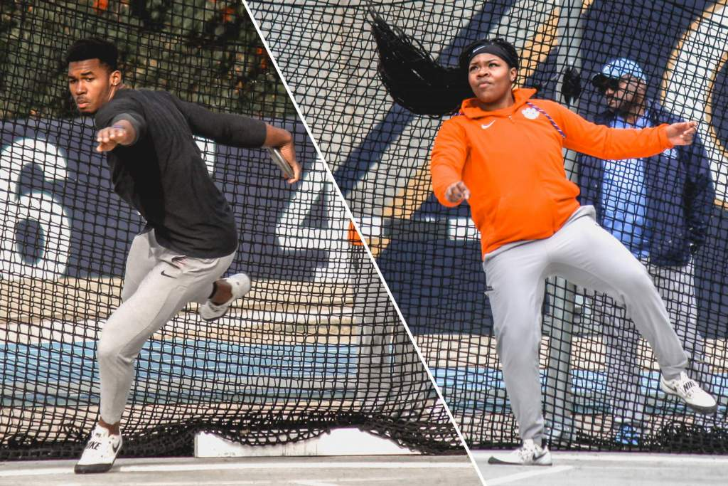 Freshmen Stona, Fraley Sweep Discus Titles at Yellow Jacket Invitational