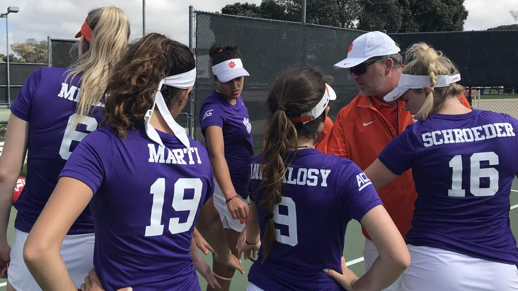 Clemson Sweeps Two Matches in San Diego