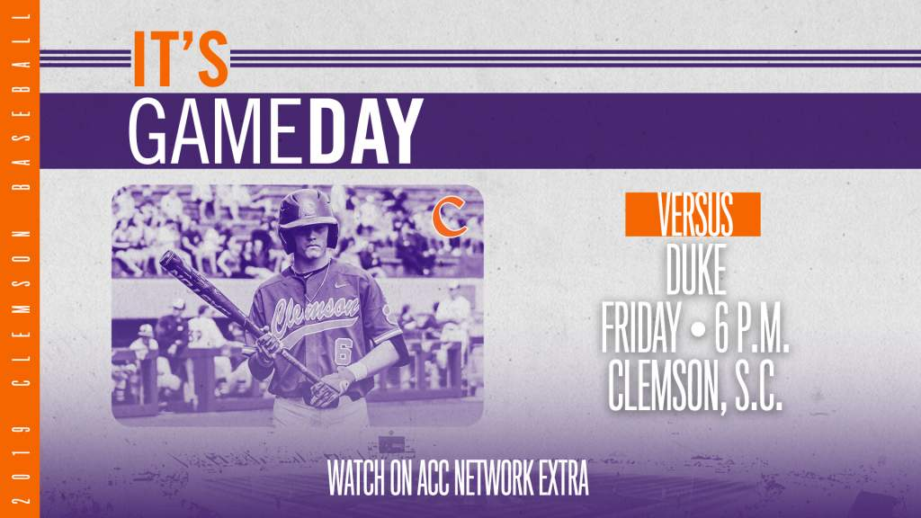 GAMEDAY – Duke at Clemson
