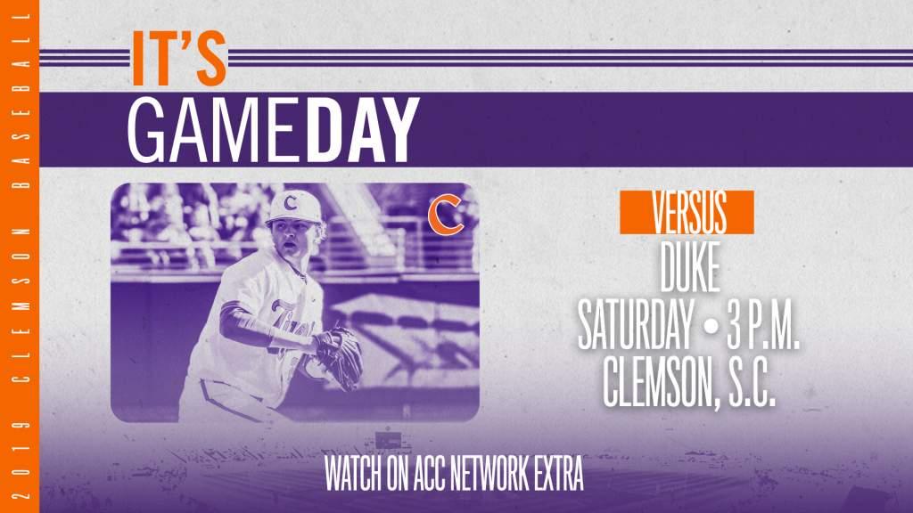 GAMEDAY – Duke at Clemson