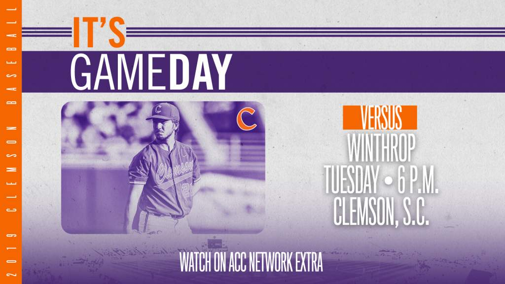 GAMEDAY – Winthrop at Clemson
