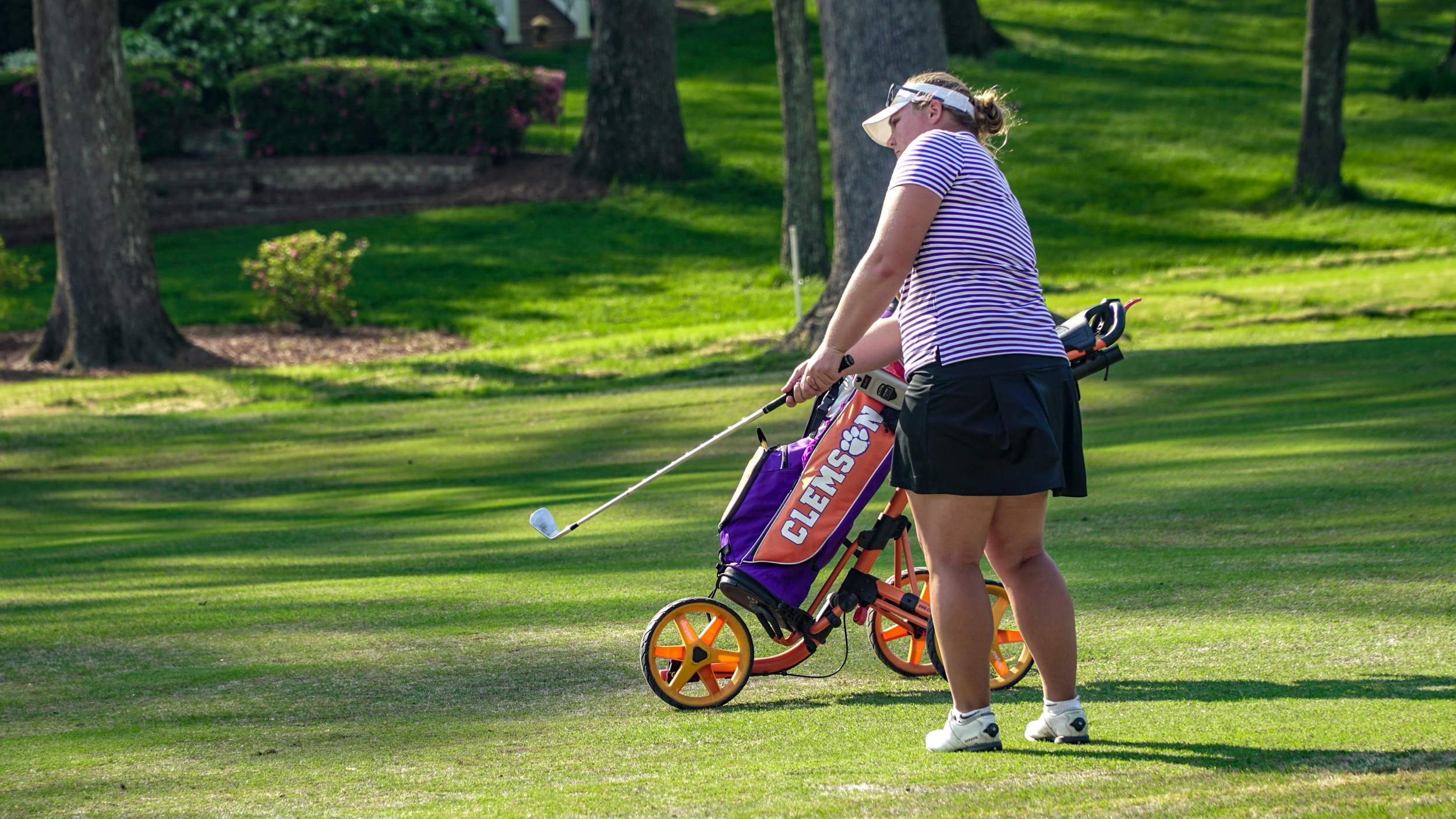 Clemson In Tenth Place after Two Rounds of ACC Women's Golf