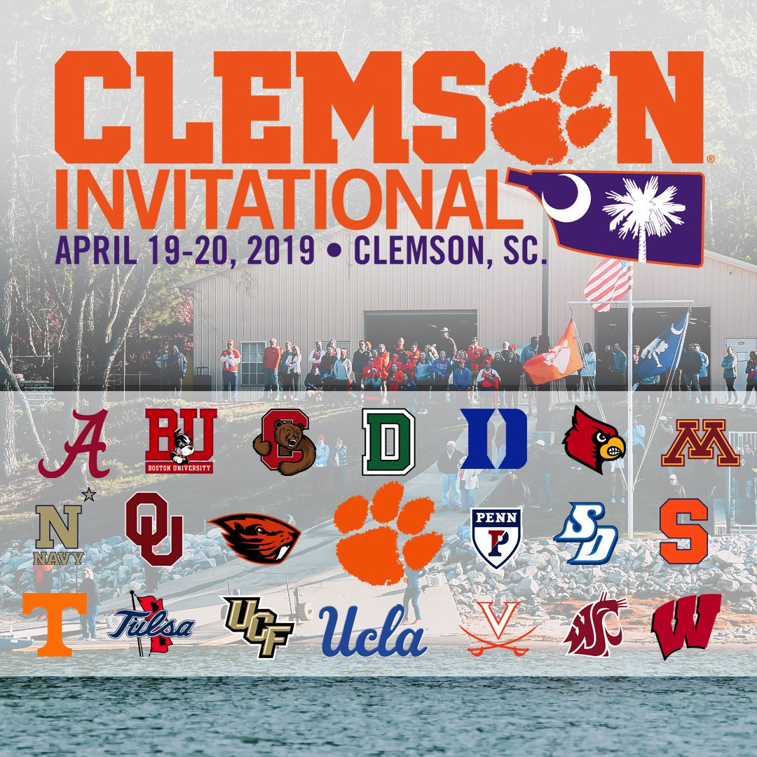 2019 Clemson Invitational Regatta Clemson Tigers Official Athletics Site