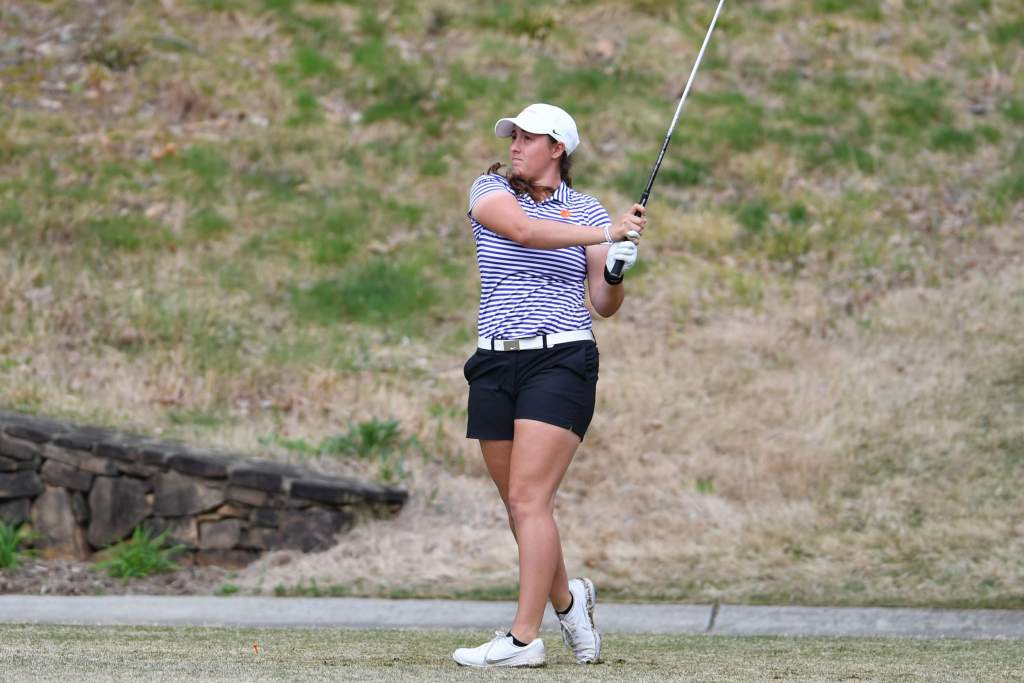 Tigers Rank Third After Two Rounds at Clemson Invitational