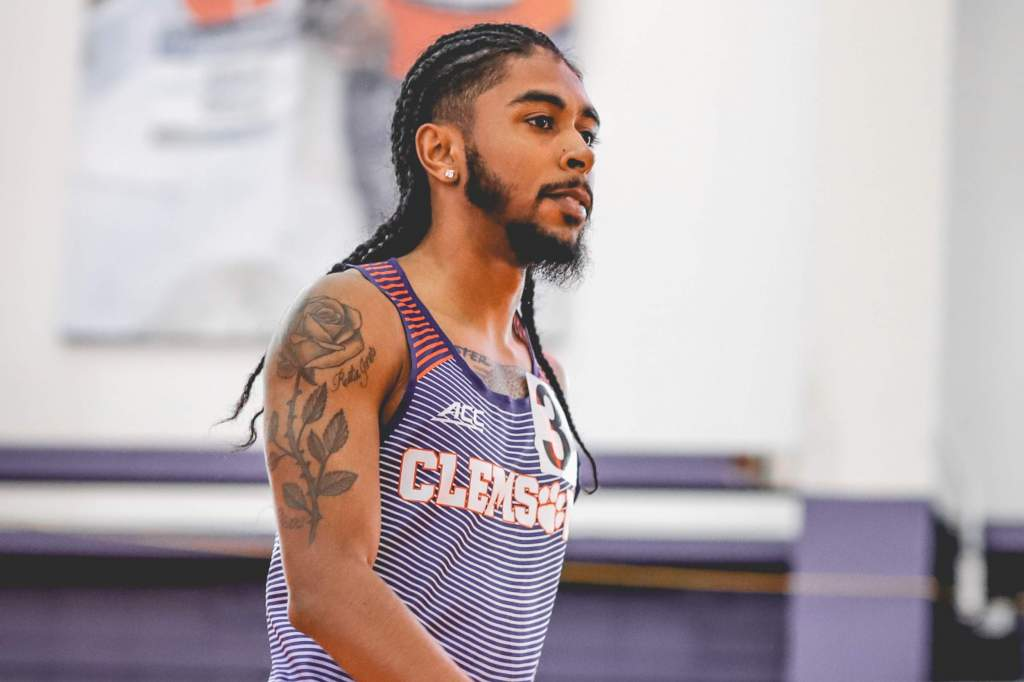 Parker Tabbed ACC Track Performer of the Week