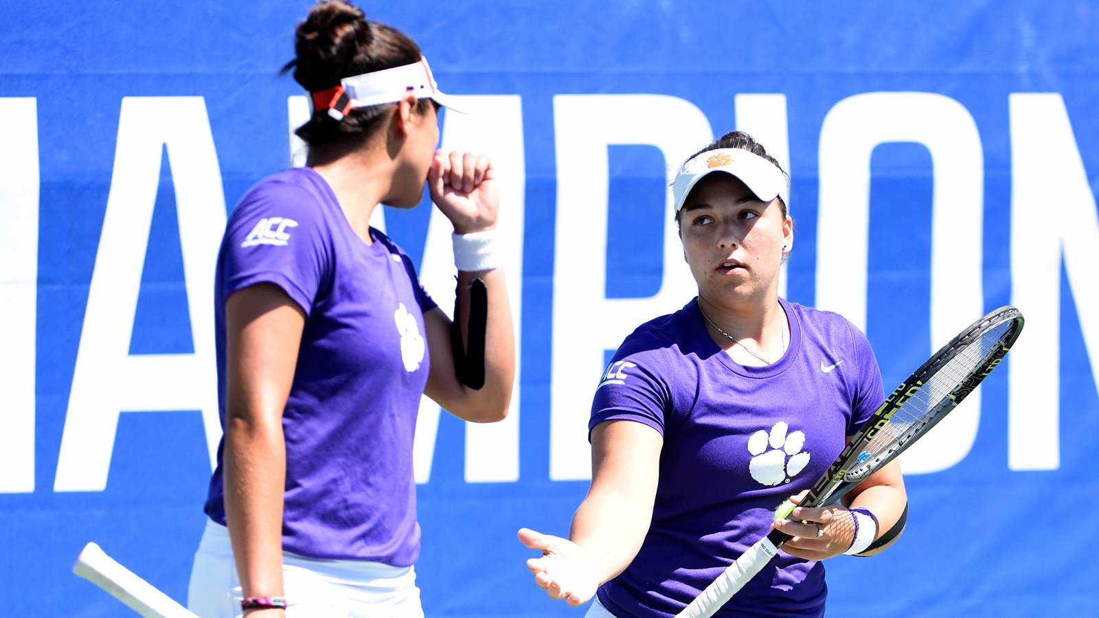 Seniors Leduc & Navarro Win, but Tigers Edged by Virginia Tech in ACC First Round