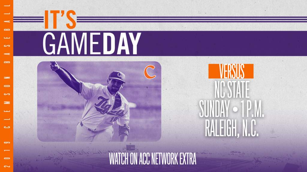 GAMEDAY – Clemson at NC State