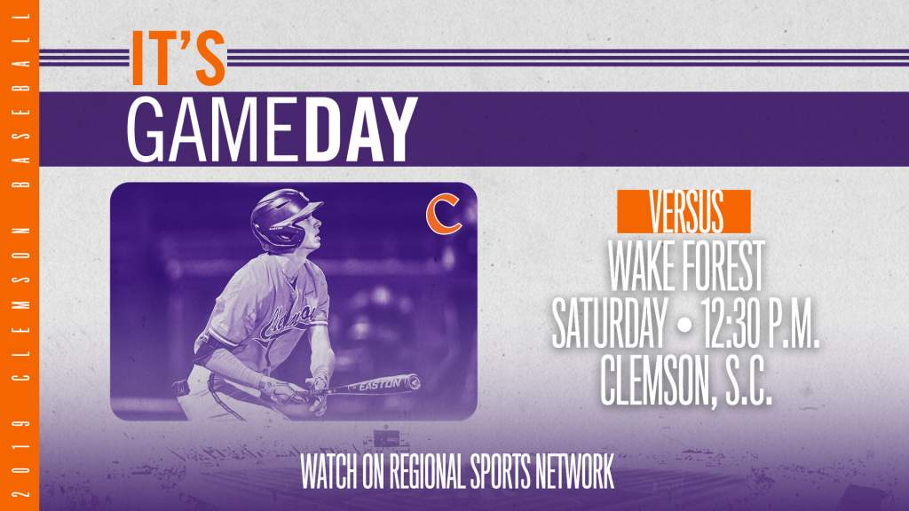 GAMEDAY – Wake Forest at Clemson