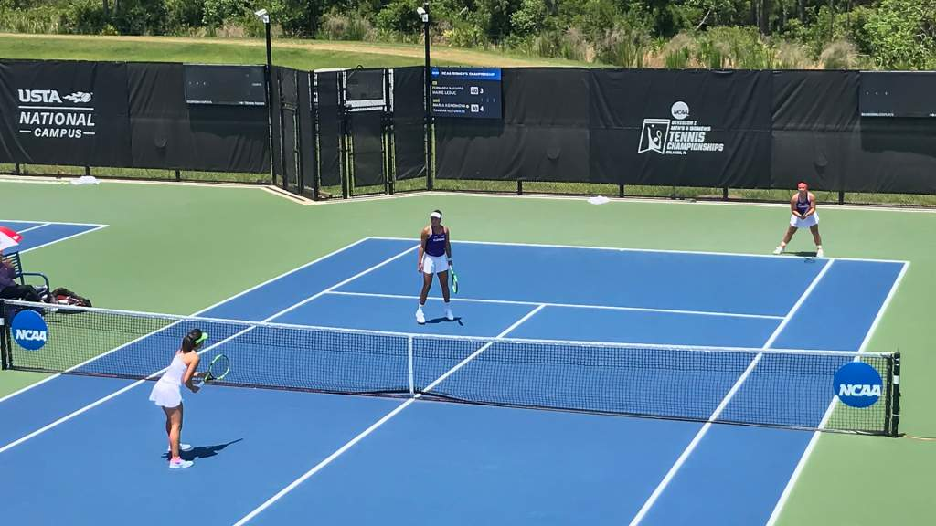 Tiger Duo Advances to NCAA Doubles Sweet 16