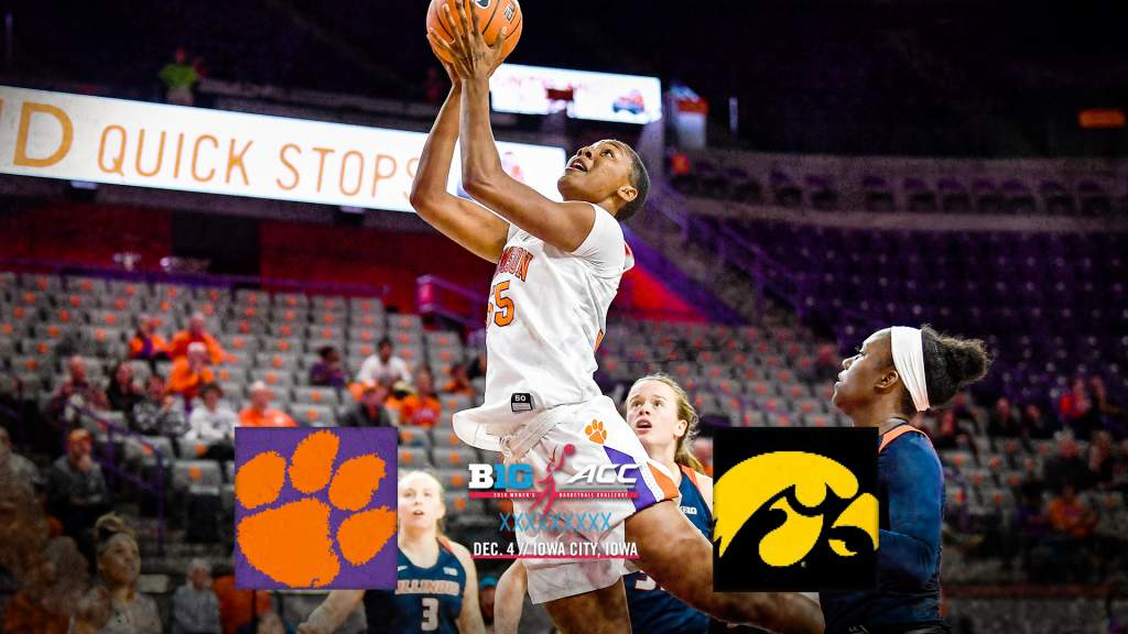 Clemson To Face Iowa in ACC/Big Ten Challenge