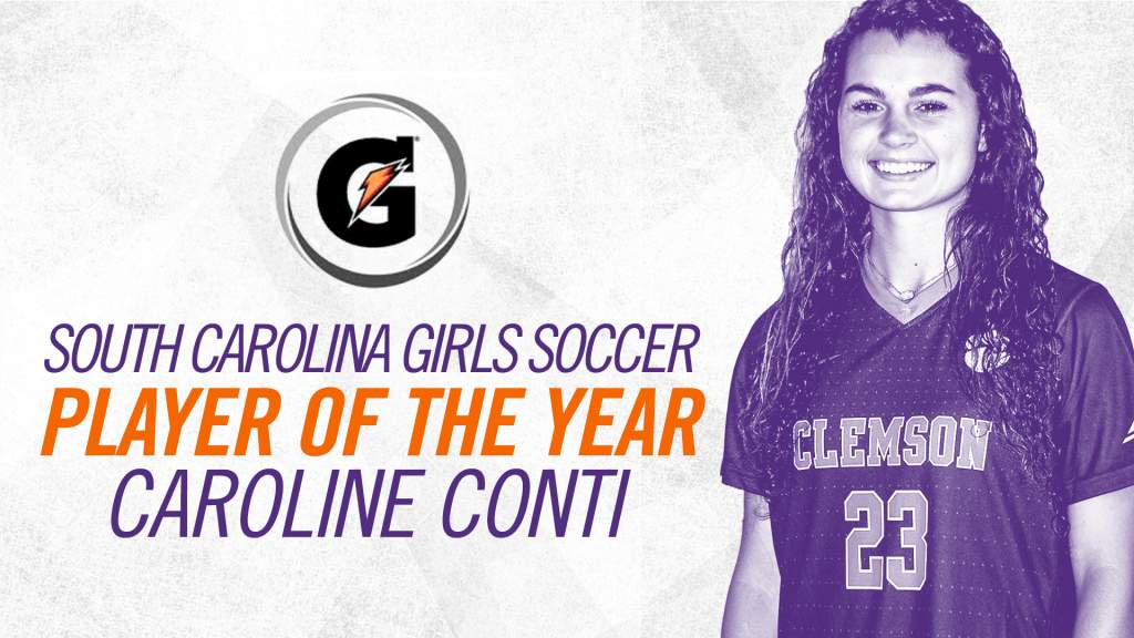 Conti Named Gatorade South Carolina Girls Soccer Player of the Year