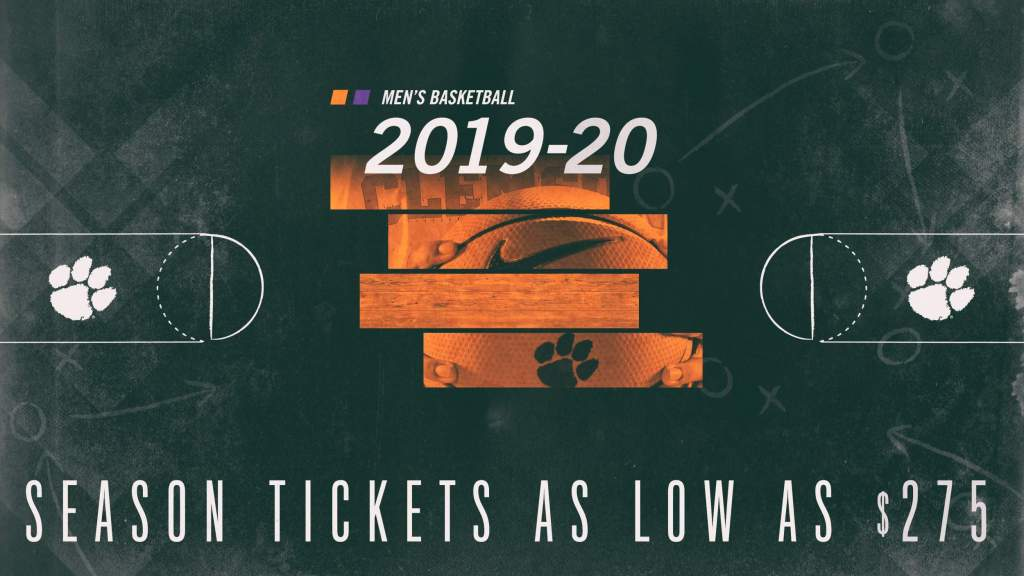 2019-20 MBB Season Tickets On Sale Now
