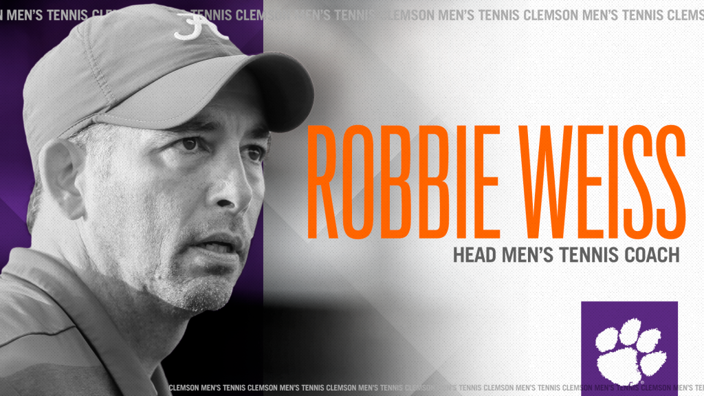Robbie Weiss Named Men's Tennis Head Coach