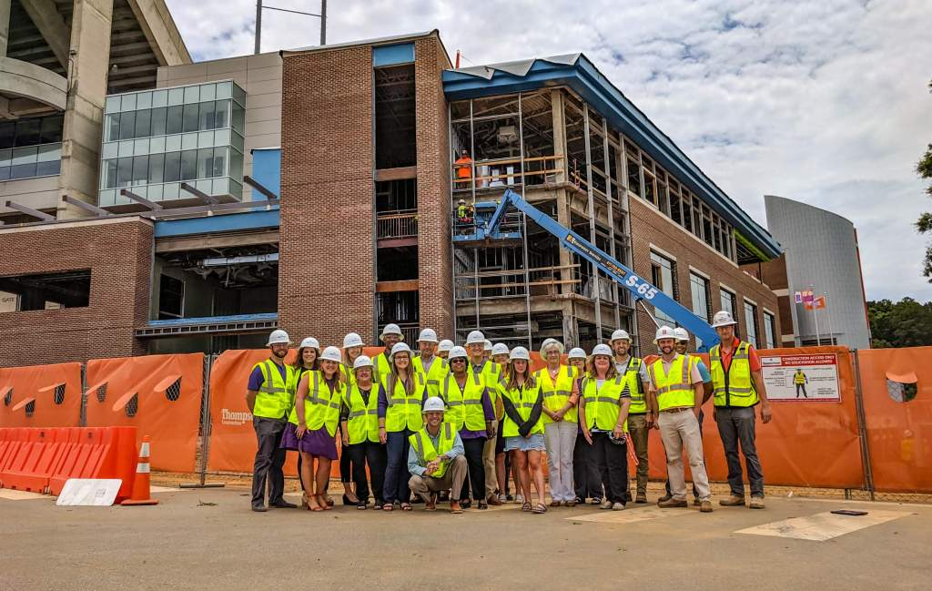 Staff Gets First Look at IPTAY Center