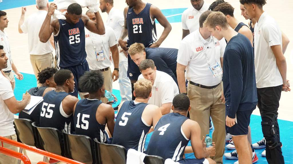 USA Moves to 2-0 in Pool Play with 58-57 Win Over Ukraine