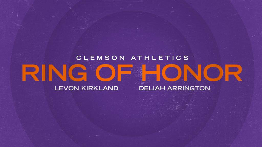 Kirkland and Arrington Selected to Clemson Ring of Honor