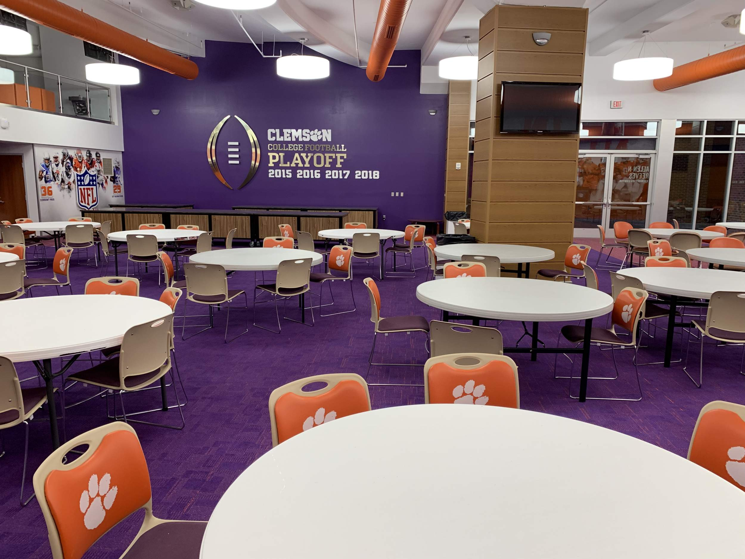 Facility Rental – Reeves Recruiting Lounge – Clemson Tigers