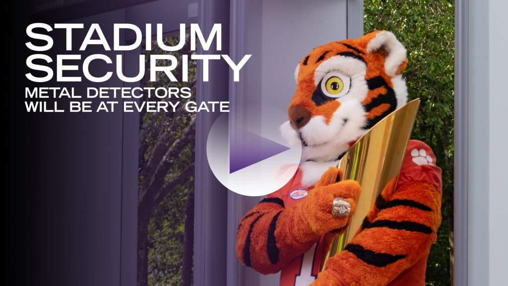The Tiger Learns about the Updated Security Measures