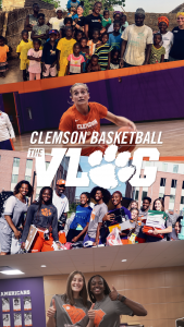Play video: 🎥 Clemson WBB: The Vlog (S3, E1)