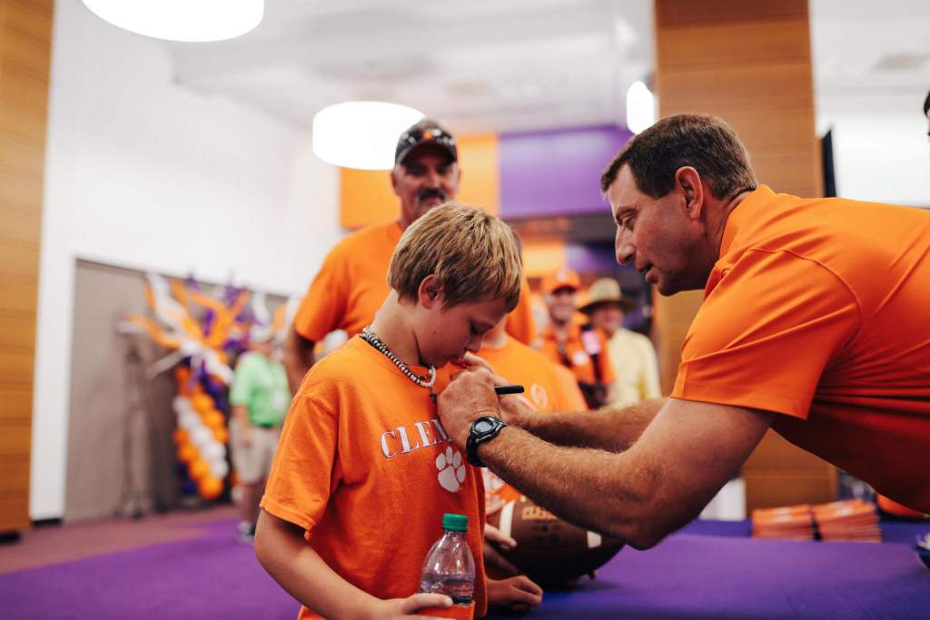 Football Holds 2019 Fan Day