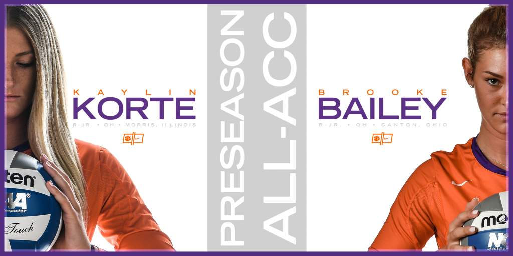 Bailey, Korte Named Preseason All-ACC Selections