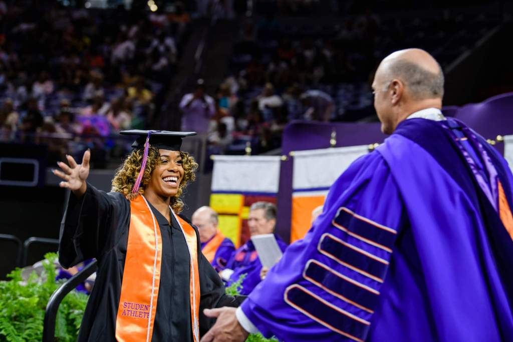 Thirteen Clemson Student-Athletes Receive Degrees