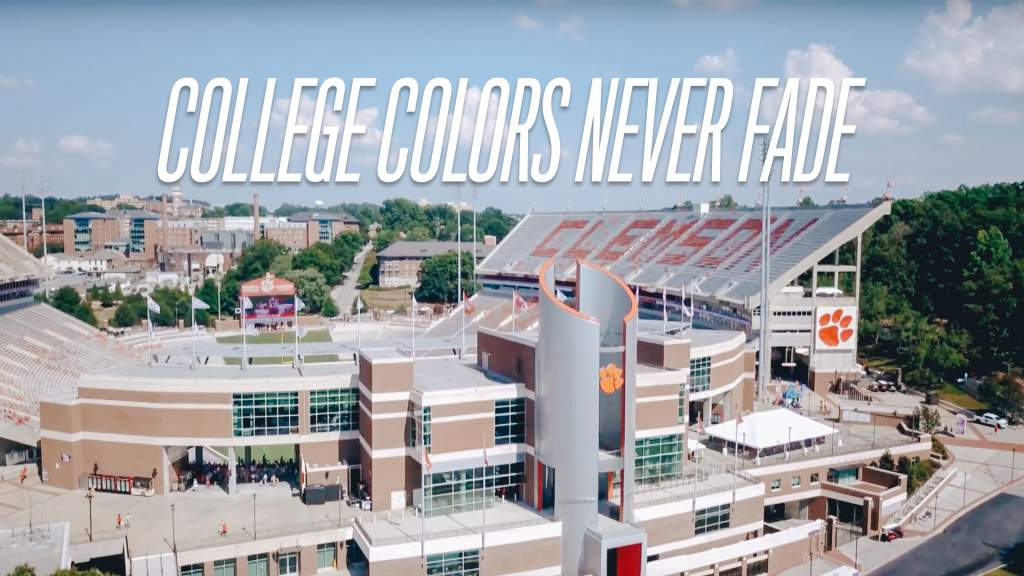 College Colors Never Fade