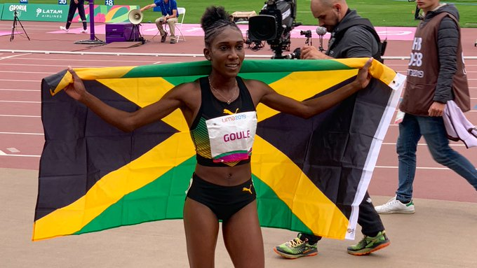 Goule Captures Gold at Pan-American Games