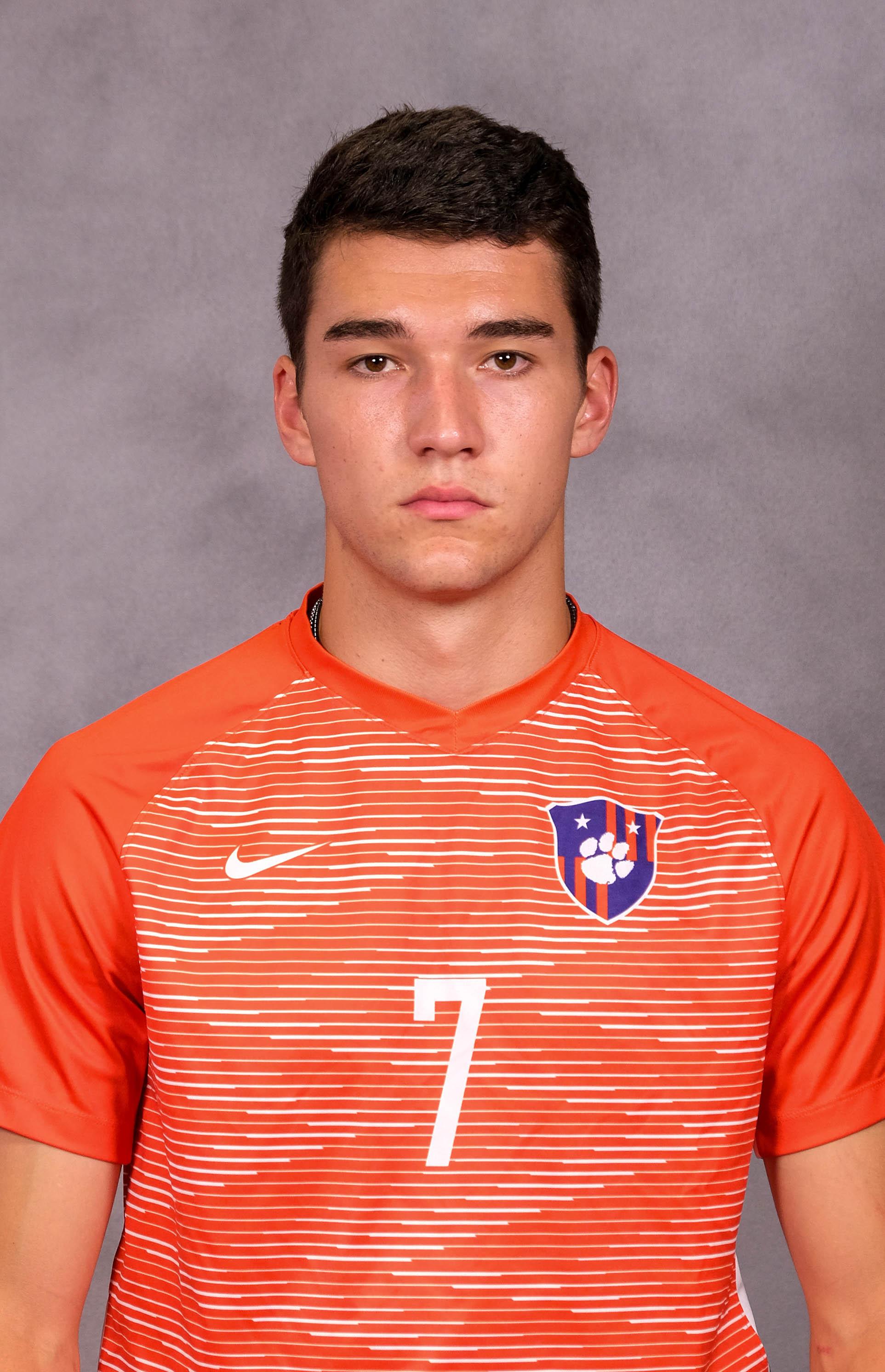 Robbie Robinson - Men's Soccer - Clemson University Athletics