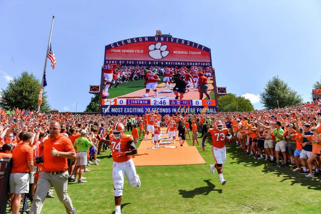 Clemson Opens at No. 1 in AP Preseason Poll