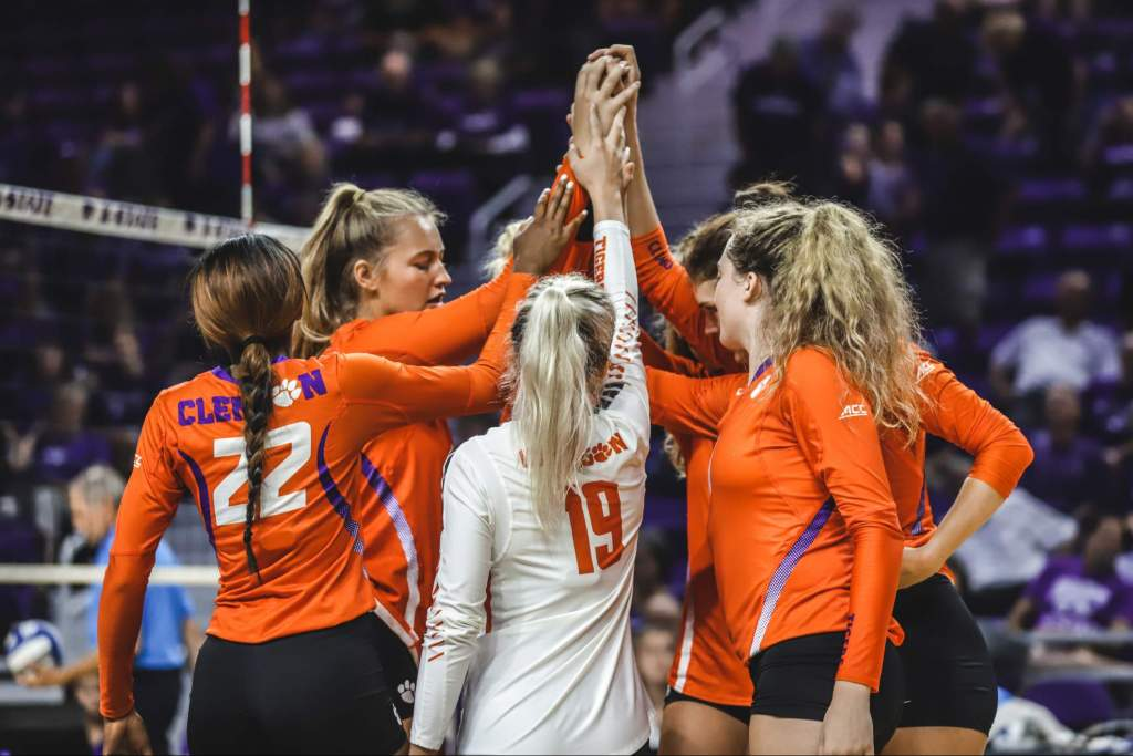 K-State Edges Tigers in Five Sets