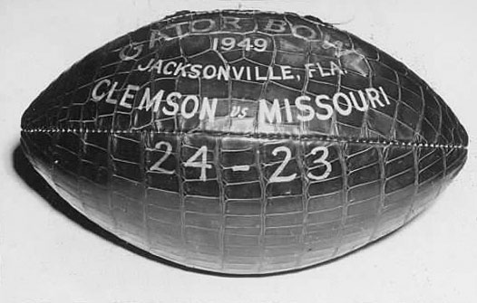 Landmark Events in Tiger History – 1949 Gator Bowl Win