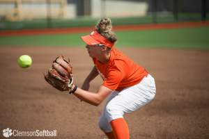 Play video: Tigers' First Practice at the Clemson Softball Stadium