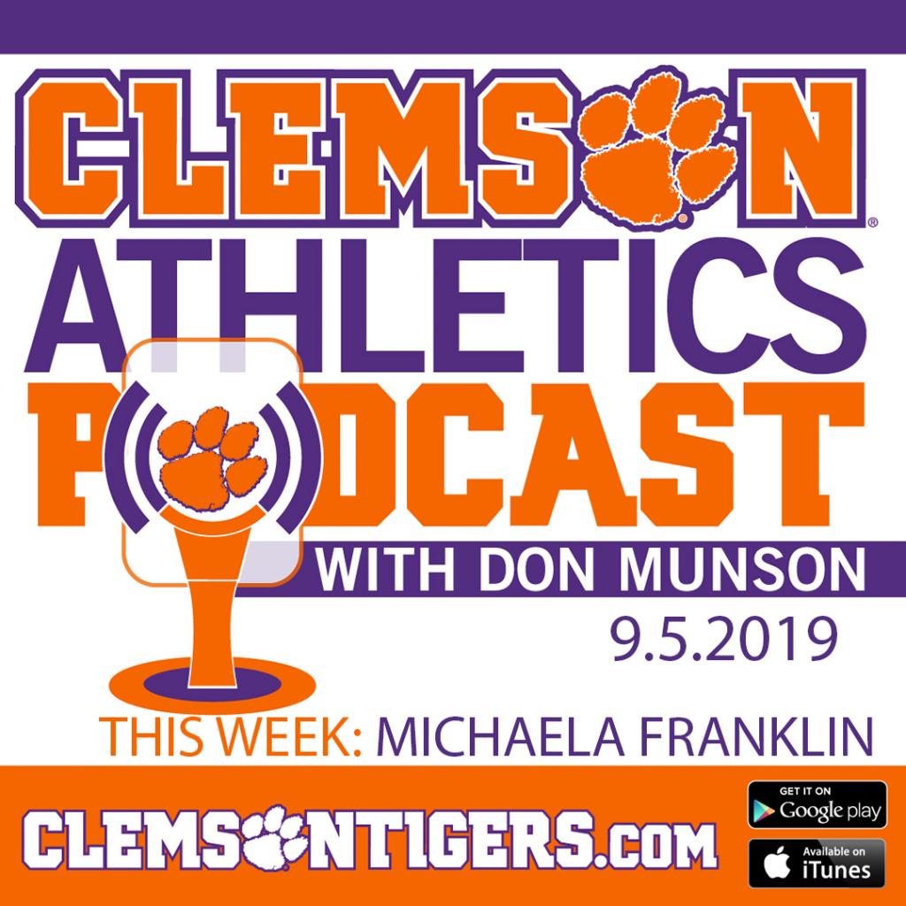 Clemson Athletics Podcast 9.5.2019 featuring Volleyball Head Coach Michaela Franklin