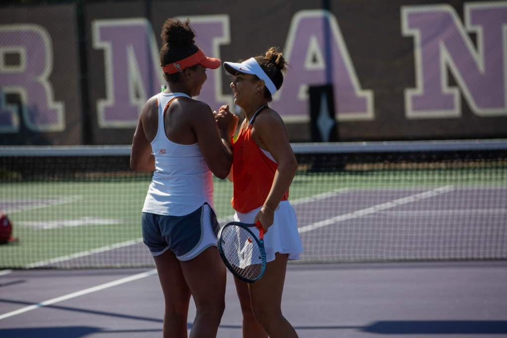 Louka, DeSpain Earn First Collegiate Singles Victories