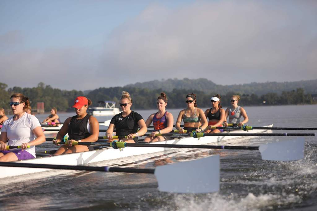45 Novice Rowers to Make Tiger Debut in Secret City Head Race