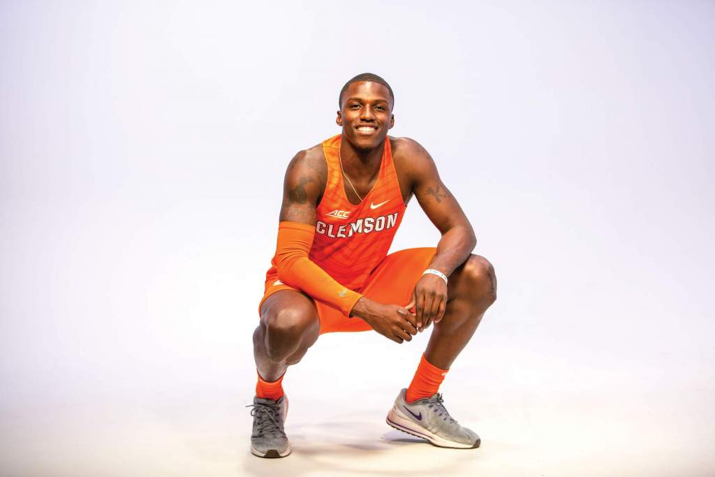 Anthony Hamilton – Men's Track & Field Spotlight