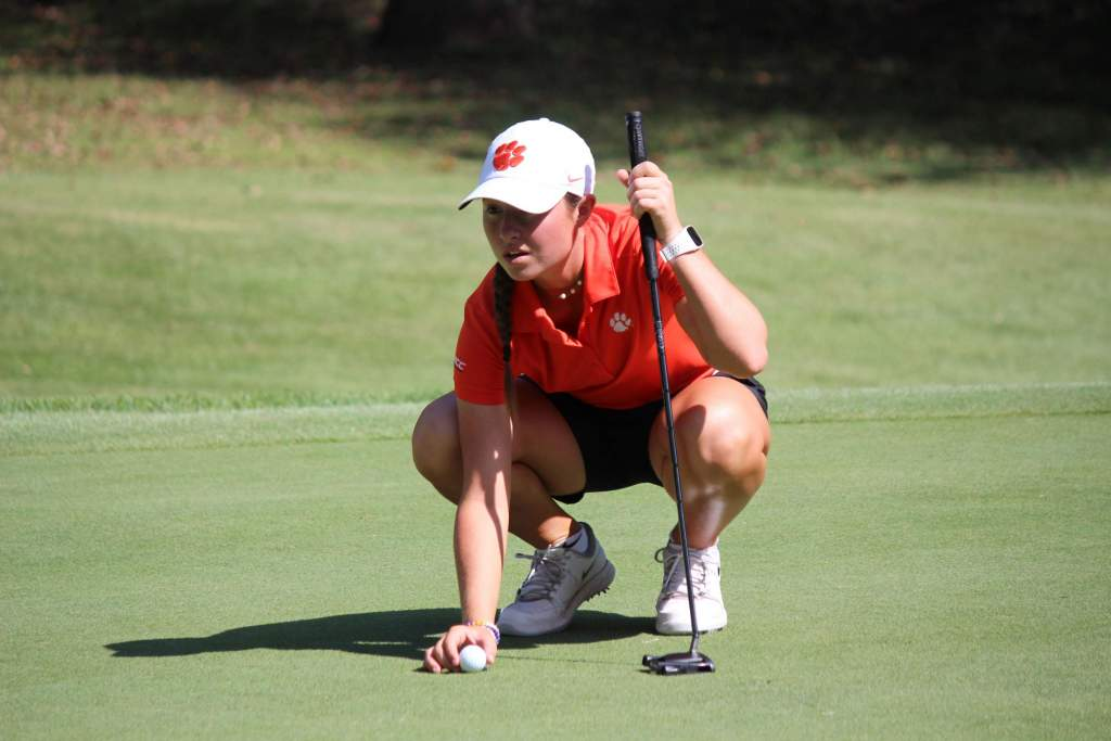 Burgess, Grewal Lead Tigers in First Round of White Sands Invitational