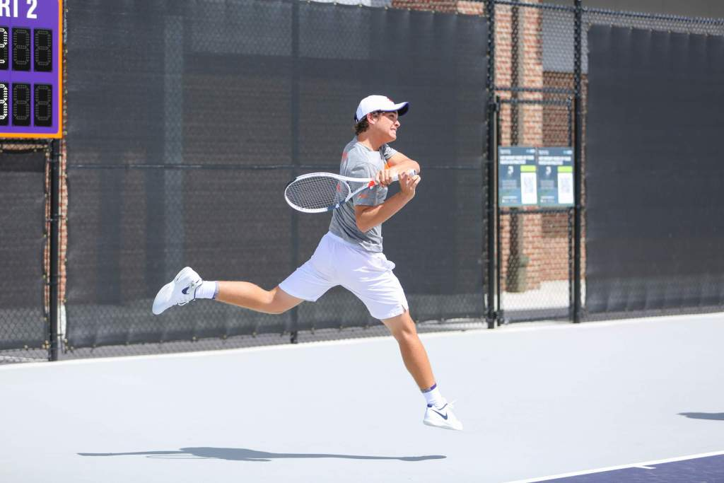 Men's Tennis Completes Day Two at the Georgia Tech Invitational