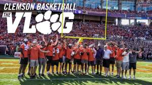 Play video: 🎥🎬 ClemsonMBB: The Vlog (S3, E3)